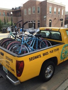 Bicycle rentals in Pensacola