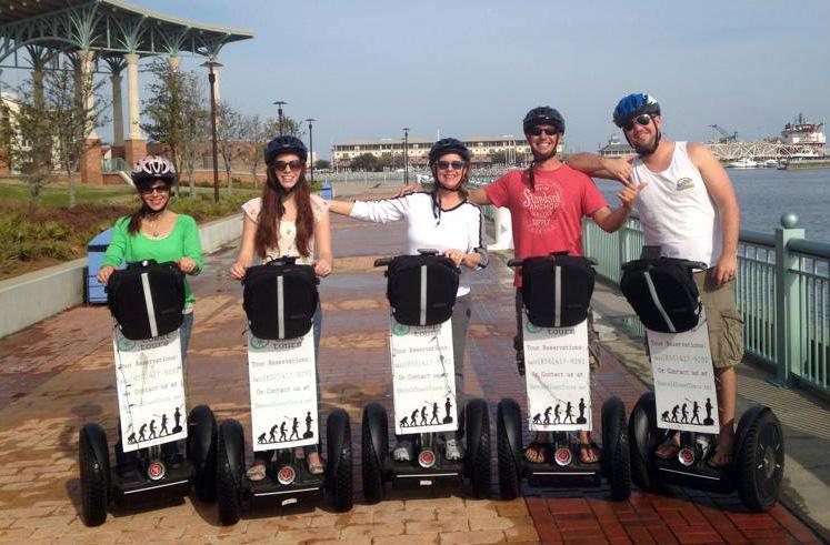 Segway tours in Pensacola
