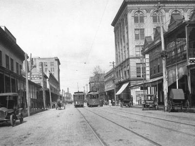 Pensacola street cars